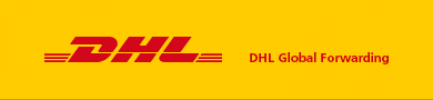 Logo firmy DHL Global Forwarding