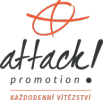 Logo firmy Attack Promotion