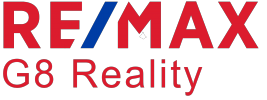 Logo firmy RE/MAX G8 Reality