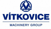 Logo firmy VÍTKOVICE HEAVY MACHINERY