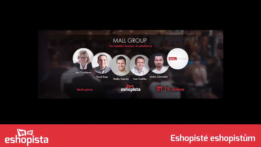 Eshopista s Mall Group: Logistika