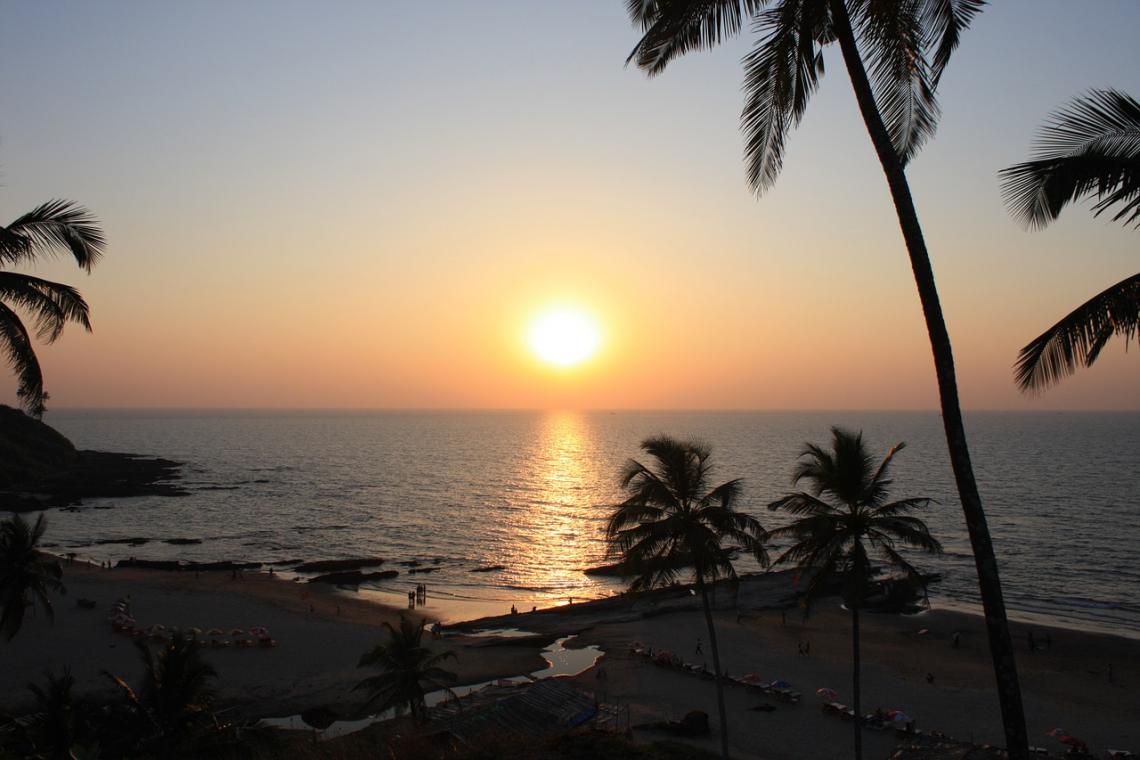 Indie pláž