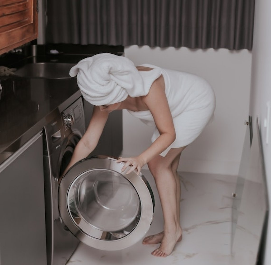 Jak vyčistit pračku, pračka, ocet, soda,
