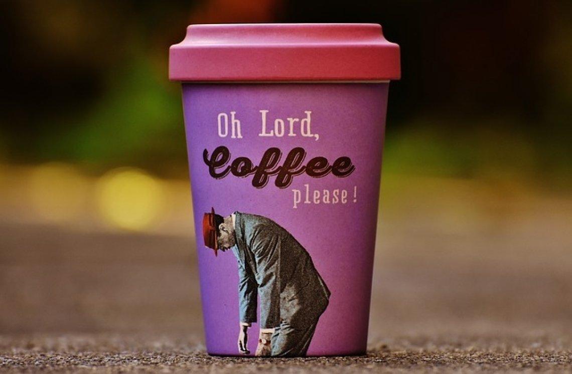 Ekologie a životní prostředí - vlastní hrneček na kávu