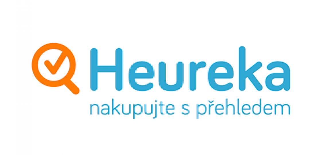 Heureka - logo - lídr v porovnávání cen a srovnání produktu.