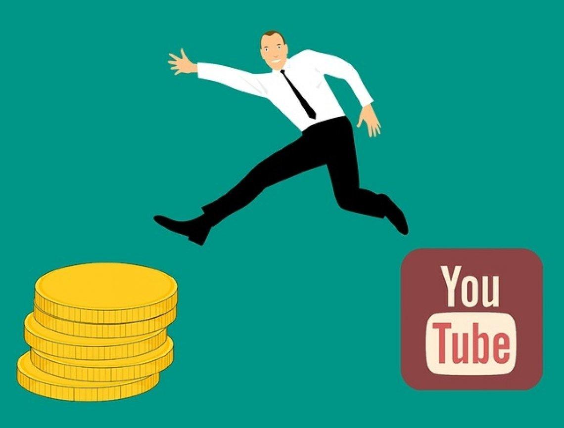 influencer marketing: youtube, výdělek