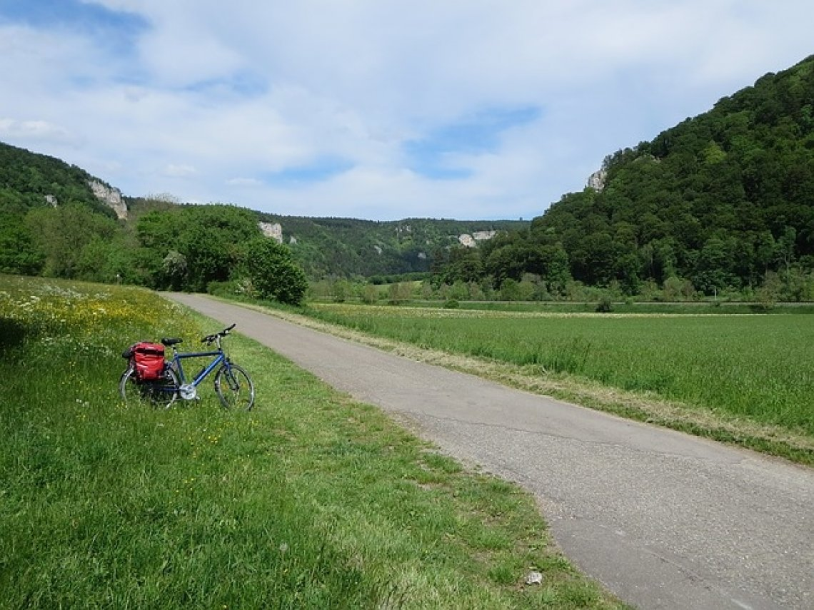 Kde ústí a pramení Dunaj - cyklotrasa