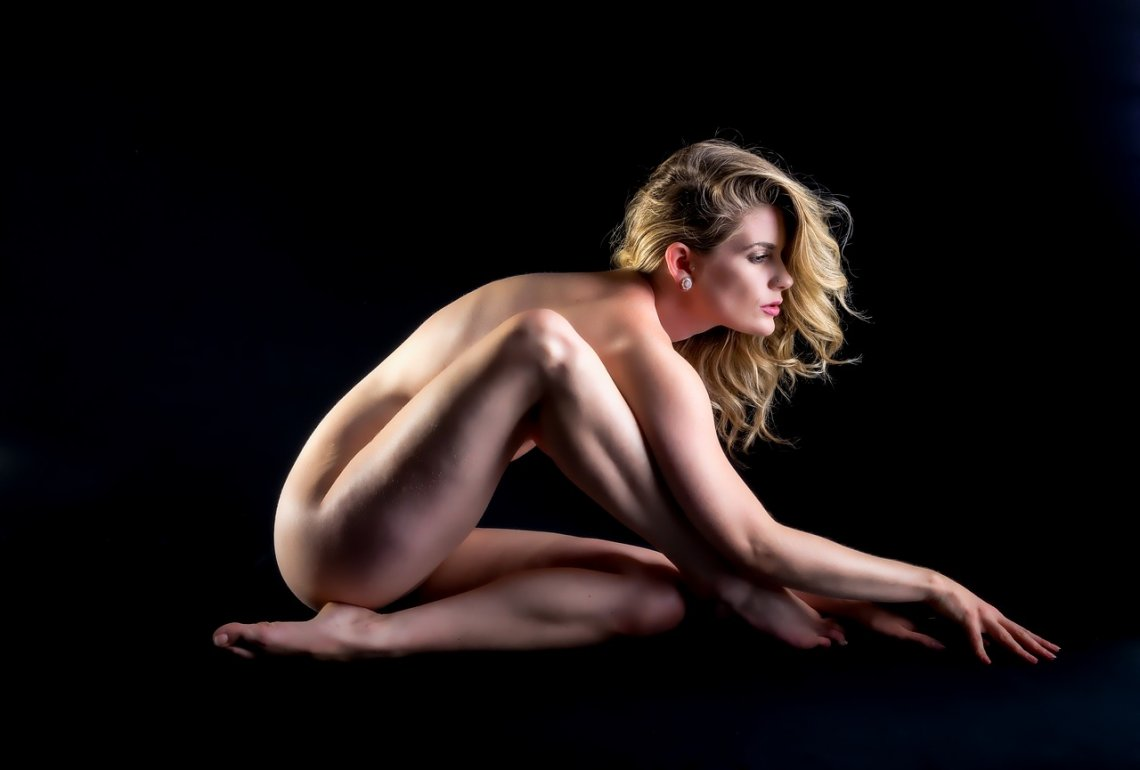 horká mladá blondýnka sex