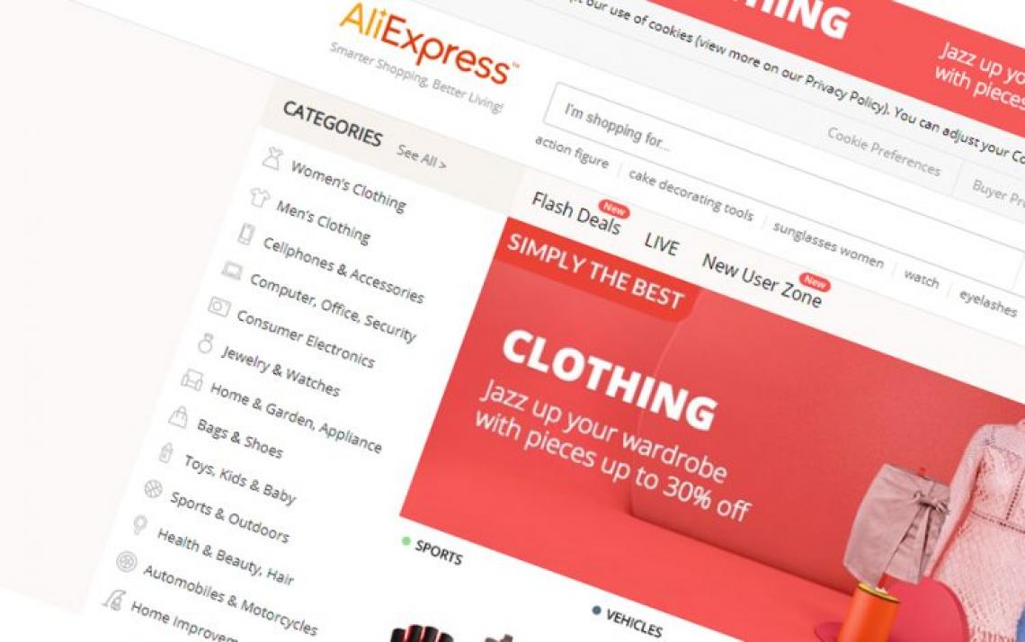 Nakupování přes AliExpress