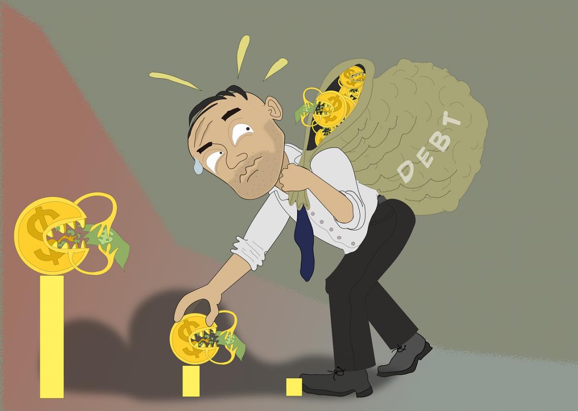 osobní bankrot a dluhy