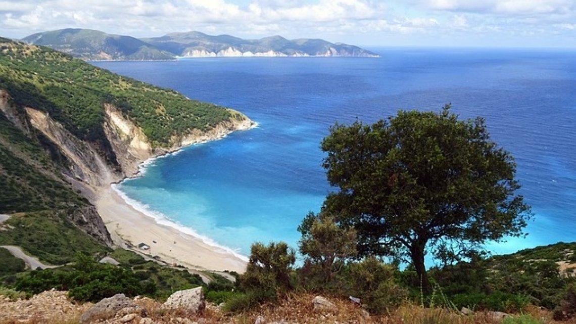 TOP 5 nejkrásnější ostrovy řecka - kefalonie, pláž