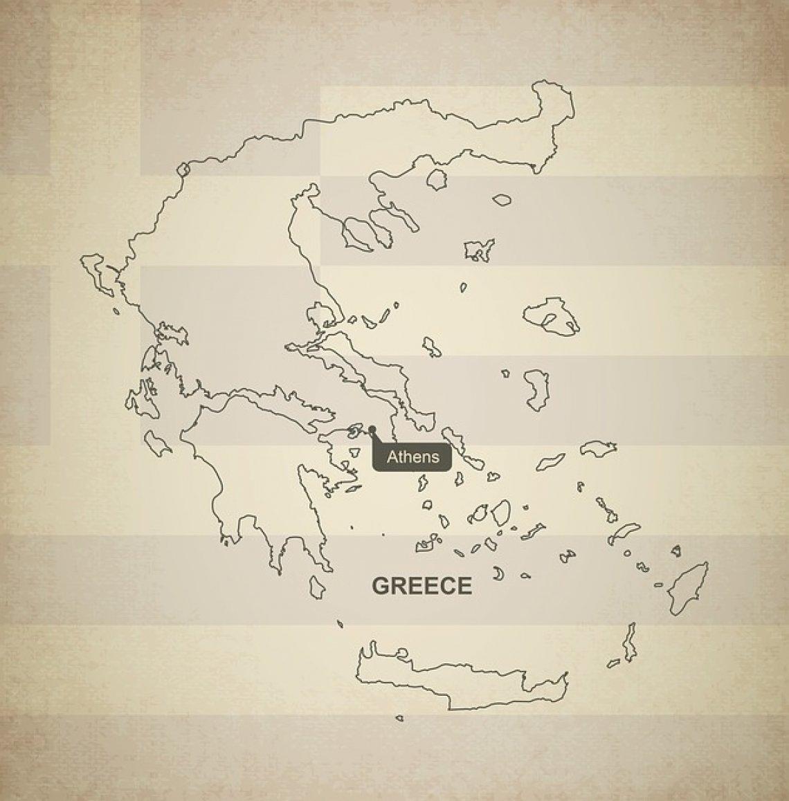 TOP 5 nejkrásnější ostrovy řecka - mapa řecka