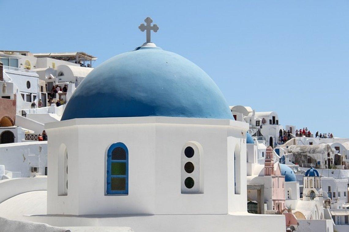 TOP 5 nejkrásnější ostrovy řecka - santorini