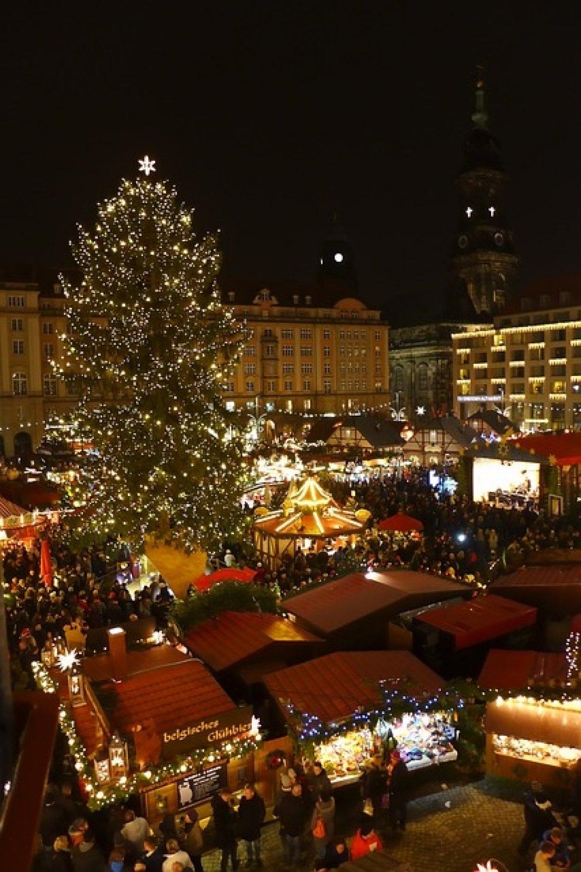 vánoční trhy - drážďany