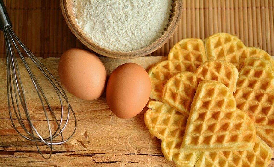Vafle - recepty na vafle, zdravé vafle, vafle do práce.