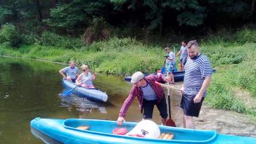 Společný výlet na řeku
