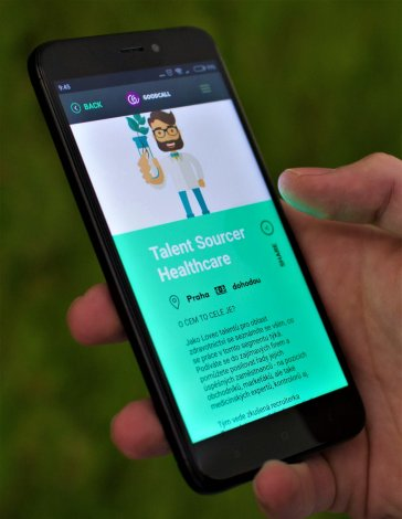 Mobilní aplikace GoodCall