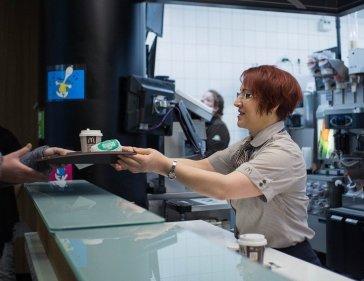 Práce v McDonald's