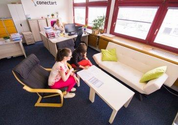 Práce v Conectart