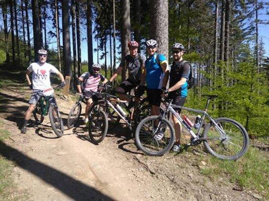Společný výlet na kolech