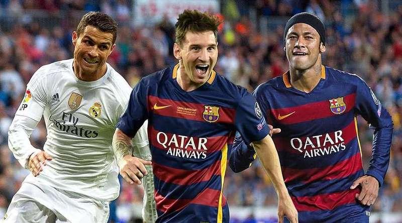 Jaký plat má Ronaldo, Messi, Neymar