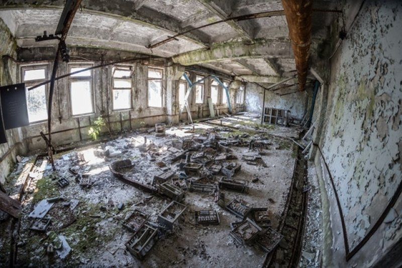 Černobyl: Zajímavosti, které v seriálu nebyly – opuštěné město