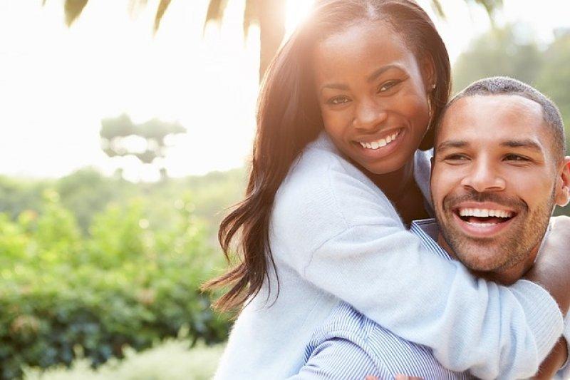 Hormony štěstí - šťastný pár