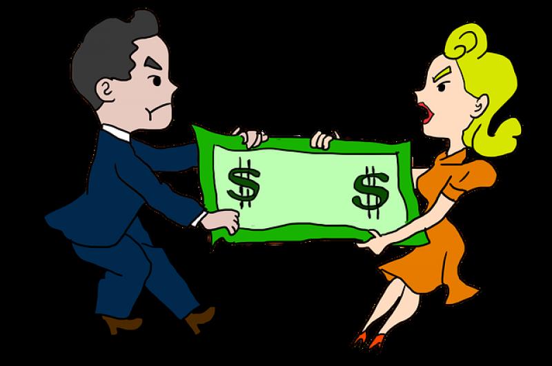 Rozvod - alimenty - výživné - peníze.