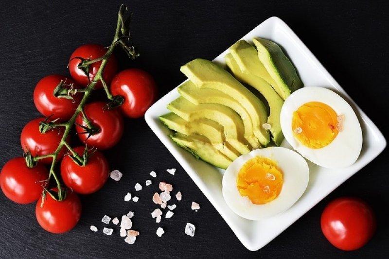 Keto dieta, dieta, zdravá strava, zdravé jídlo.