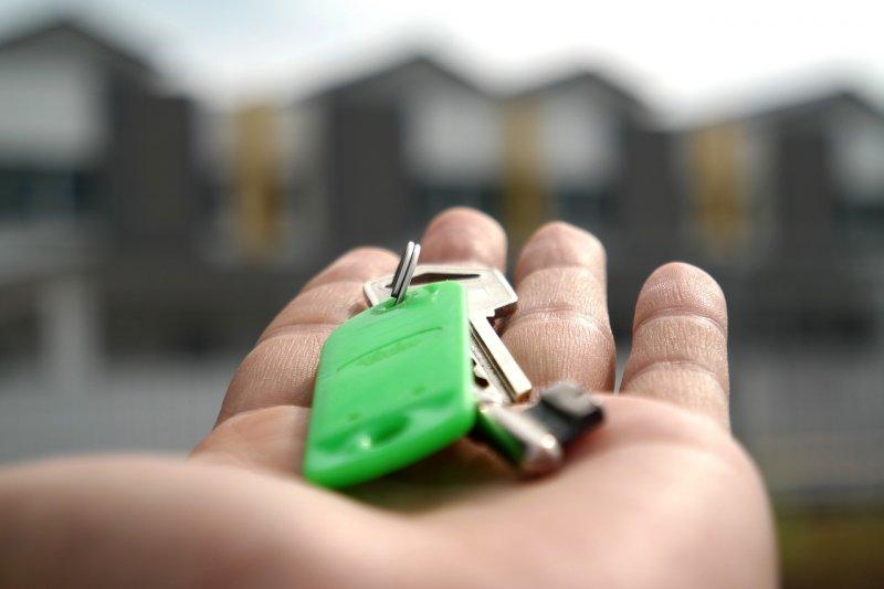 Nejlevnější hypotéka na byt či dům_klíč