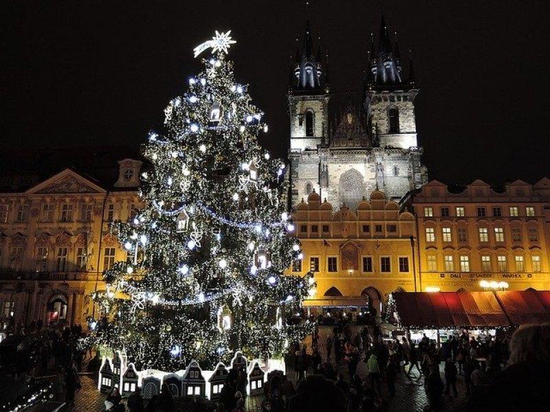 vánoční trhy - praha